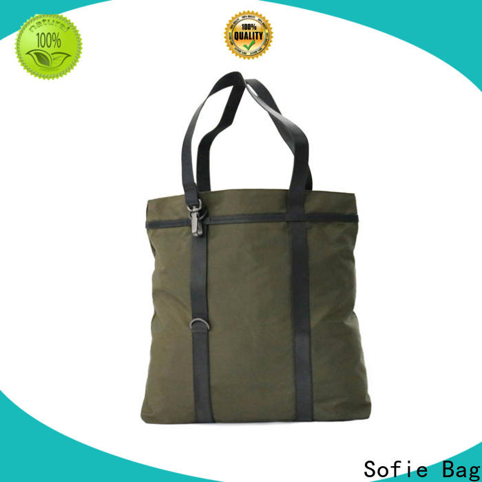 Sofie simple foldable shopping bag supplier for packaging