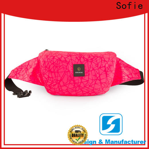Sofie durable sport waist bags manufacturer for jogging