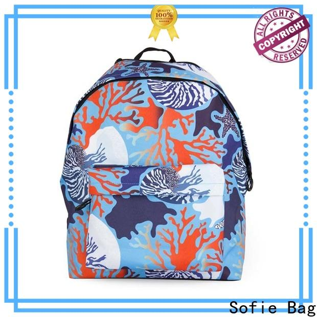Sofie polyester school bags for girls series for students