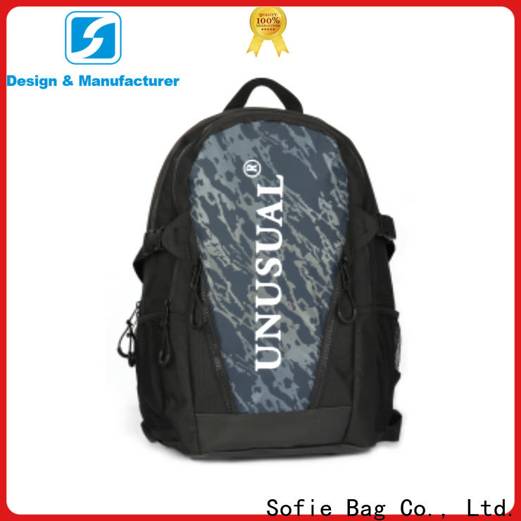 Sofie large capacity canvas backpack supplier for business
