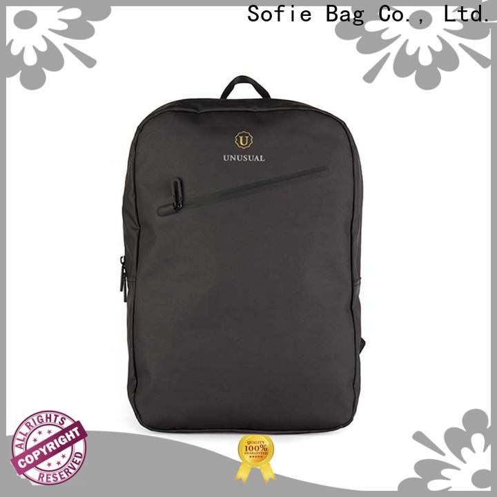 lattice jacquard fabric laptop business bag manufacturer for travel