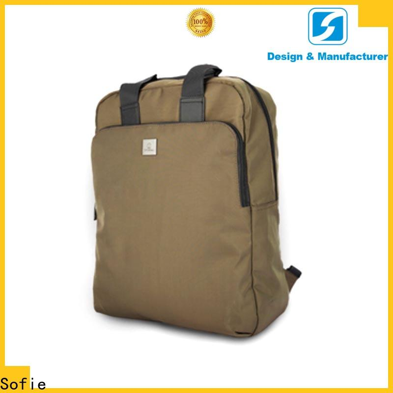 Sofie casual backpack customized for college