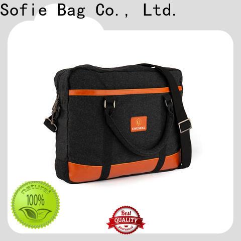 Sofie shoulder laptop bag factory direct supply for travel