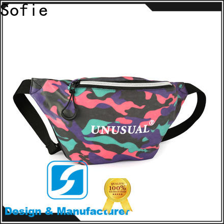 polyester belt waist pouch for decoration
