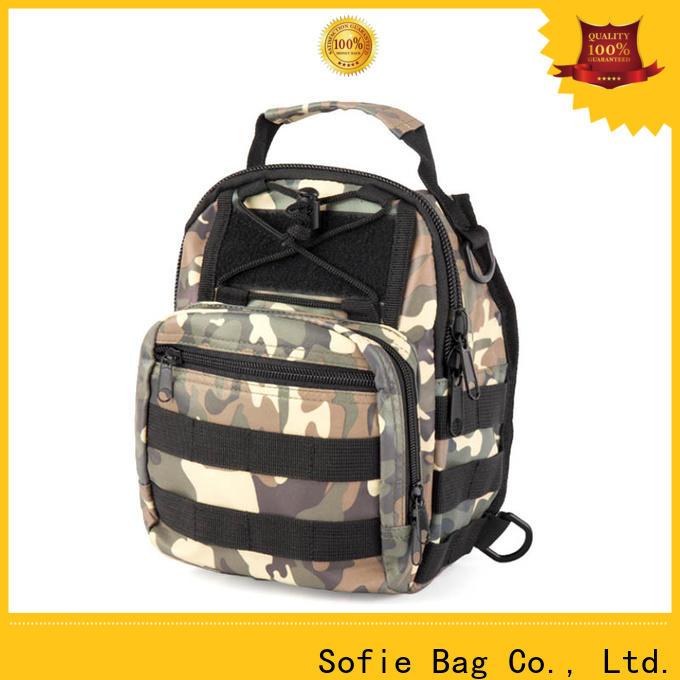 Sofie light weight crossbody sling bag factory direct supply for men