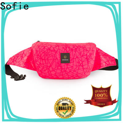 Sofie reflective waist pouch factory price for decoration
