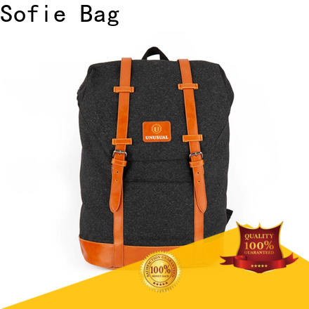 Sofie wrinkle printing mini backpack manufacturer for business
