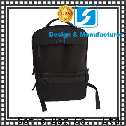 lattice jacquard fabric laptop bag wholesale for office