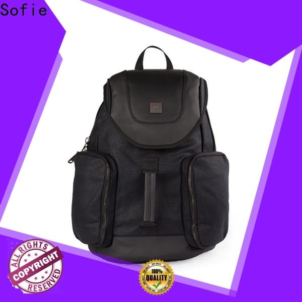 knitted fabric backpack manufacturer for school