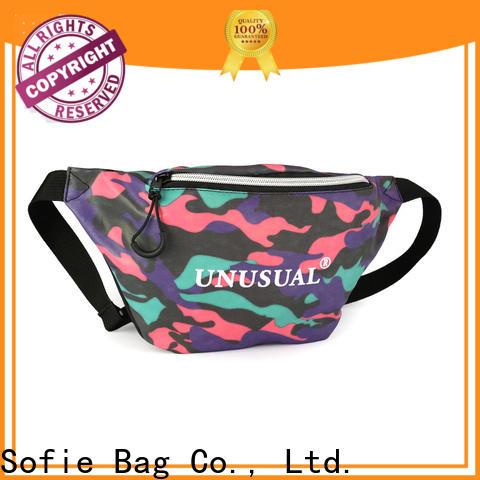 trendy waist bag manufacturer for jogging