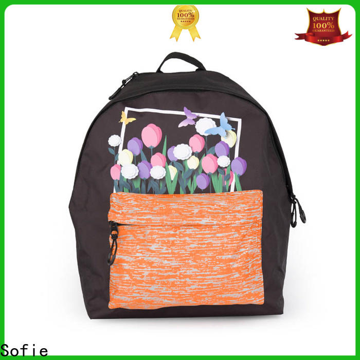Sofie colorful school backpack wholesale for students