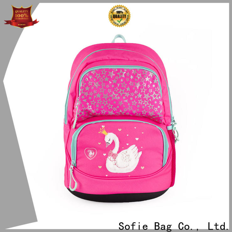 Sofie hard EVA bottom students backpack wholesale for students