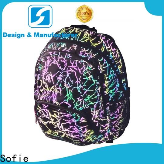 Sofie convenient school backpack manufacturer for students