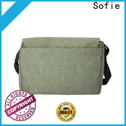Sofie waterproof waxed laptop backpack wholesale for men