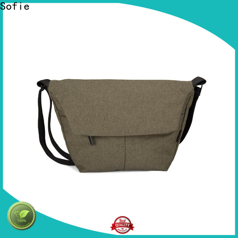 Sofie modern men shoulder bag factory direct supply for children