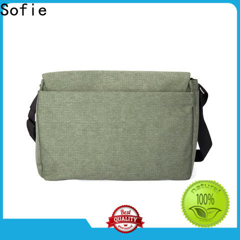 waterproof waxed classic messenger bag manufacturer for office