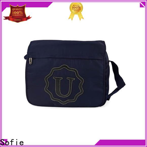 blue business messenger bag manufacturer for women