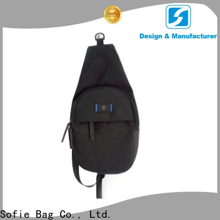 Sofie modern design chest bag series for men