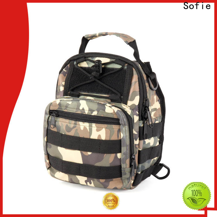 camouflage chest bag manufacturer for packaging