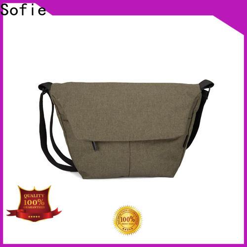 convenient men shoulder bag supplier for children
