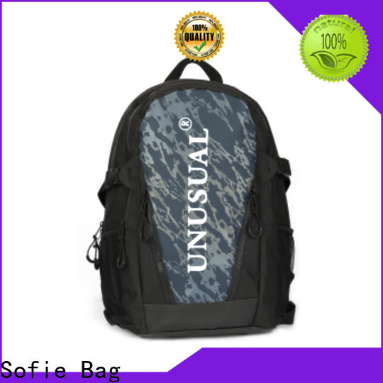 wrinkle printing canvas backpack supplier for business