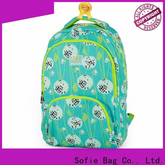 Sofie ergonomic shoulder strap school bags for girls wholesale for students