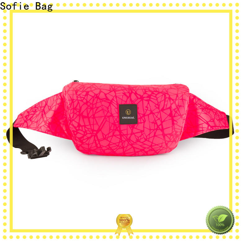 Sofie light weight sport waist bags for decoration