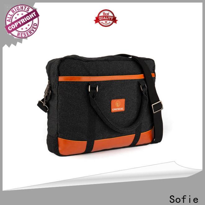 Sofie waterproof waxed laptop backpack series for men