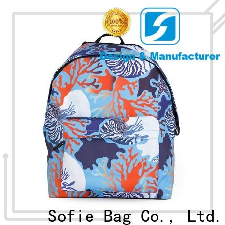 pink school backpack supplier for students