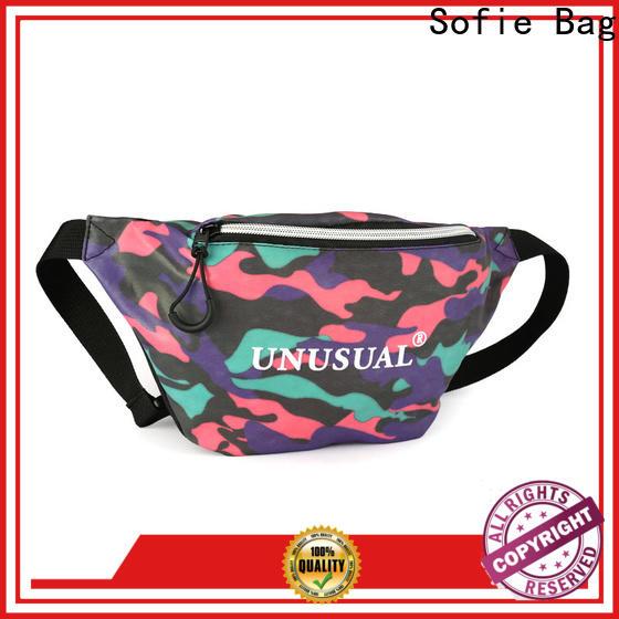 Sofie trendy sport waist bags supplier for decoration