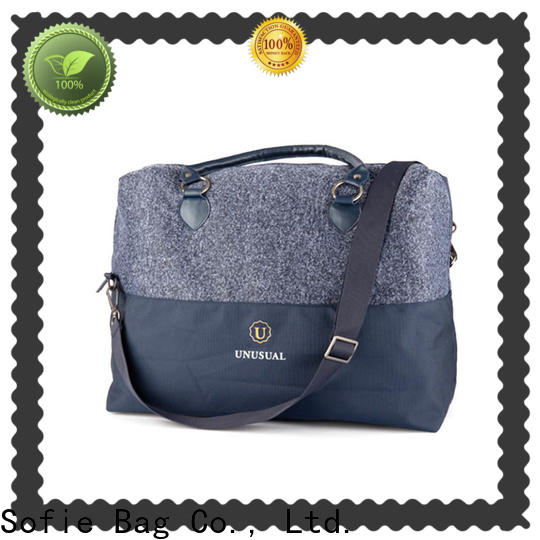 Sofie polyester travel bags for women series for packaging