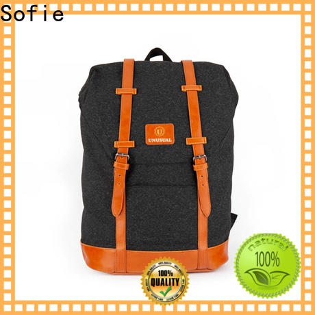 wrinkle printing reflective backpack supplier for school
