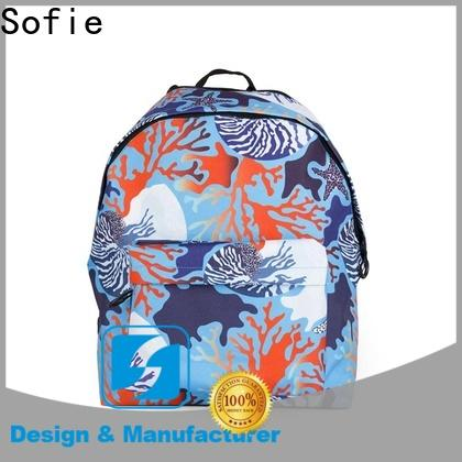 Sofie pink school bags for boys manufacturer for kids