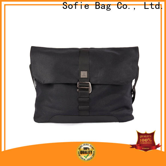 Sofie shoulder laptop bag supplier for men