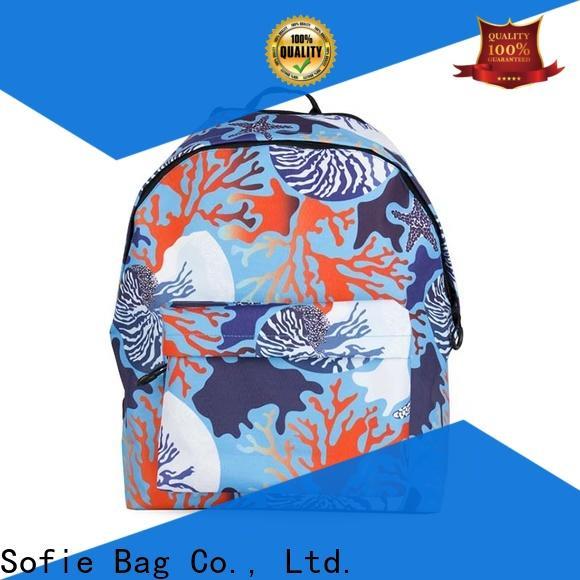 Sofie hard EVA bottom school bag supplier for students