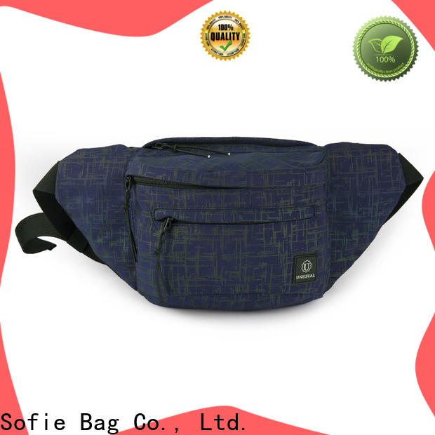 reflective waist bag wholesale for decoration