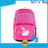 with TPU reflective hat school backpack customized for kids