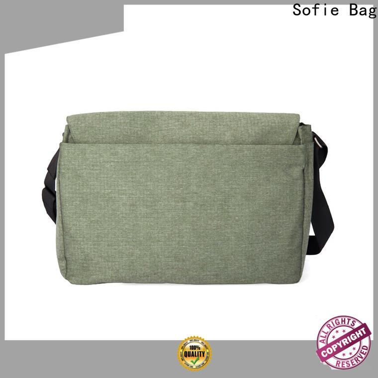 lattice jacquard fabric briefcase laptop bag wholesale for travel