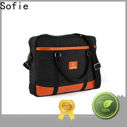 Sofie comfortable shoulder laptop bag wholesale for men