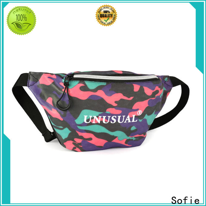 Sofie sport waist bags factory price for decoration