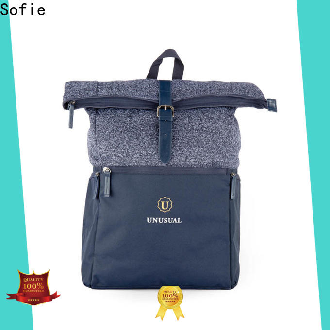 Sofie reflective backpack wholesale for business
