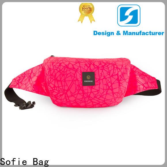 Sofie light weight sport waist bags manufacturer for jogging