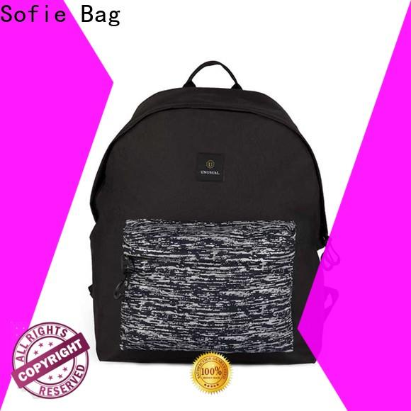 wrinkle printing backpack wholesale for travel