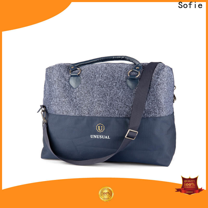 Sofie travel bags for women factory direct supply for packaging