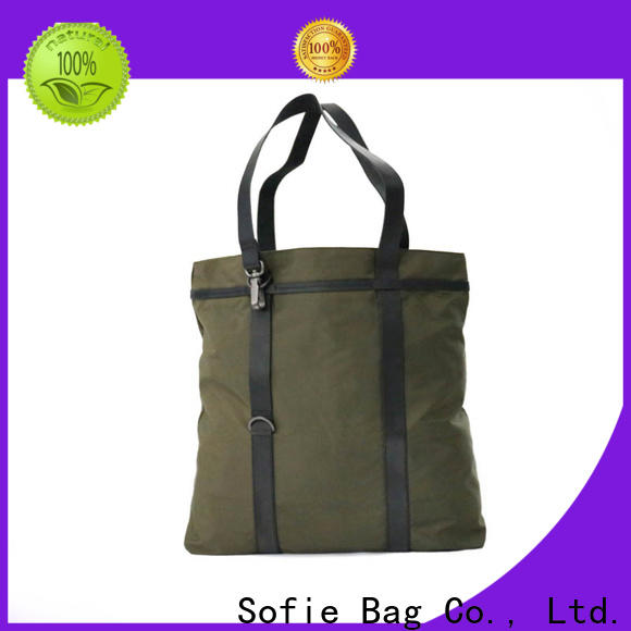 Sofie foldable shopping bag factory direct supply for women