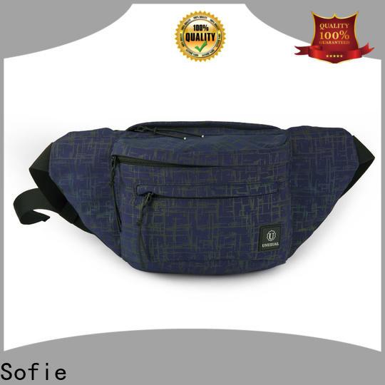Sofie reflective waist bag supplier for jogging