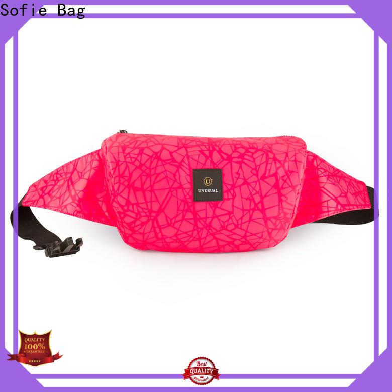 Sofie light weight waist bag supplier for jogging