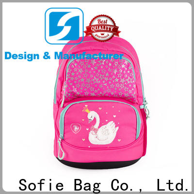 Sofie pink school bags for kids supplier for students