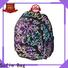 two pockets school bags for kids supplier for children
