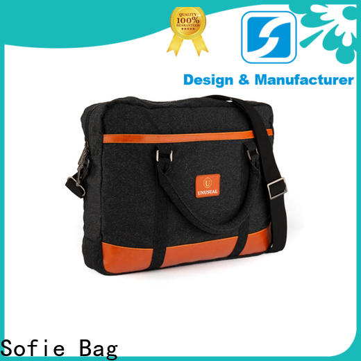Sofie thick pipped handle laptop backpack manufacturer for travel